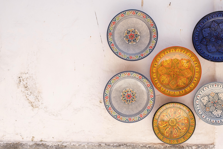 Ceramics in Essaouira, Morocco